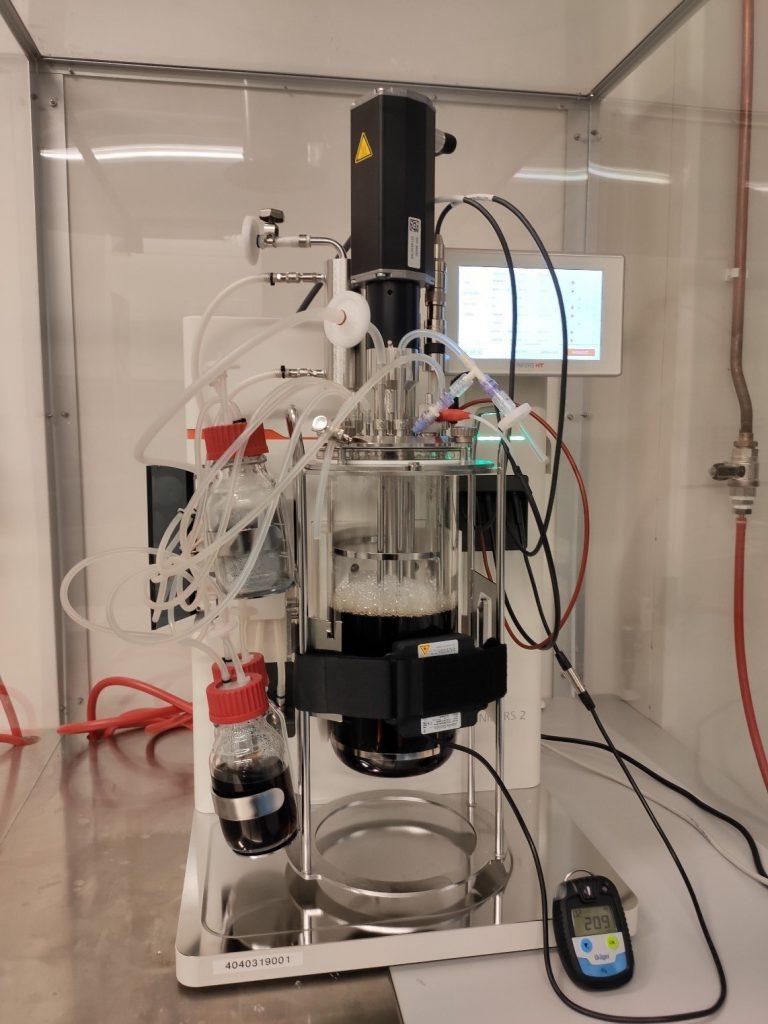 Bioreactor working at UEF